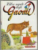 BOOK RAGAZZI ANNI 80 DE AGOSTINI 1986,IL LIBRO SEGRETO DEGLI GNOMI 2 david gnomo