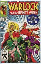 Warlock and the Infinity Watch 1992 series # 2 near mint comic book