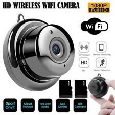 Mini 1080P WIFI IP Camera Wireless Outdoor CCTV HD Smart Home Security IR Cam UK