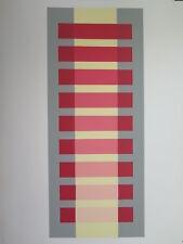 Josef Albers Original Silkscreen Folder XI-1 Right Interaction of Color 1963