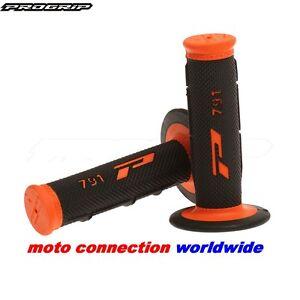 Pro Grip 791 KTM SXF250 SXF350 SXF450 Motocross Black / Orange Handlebar Grips