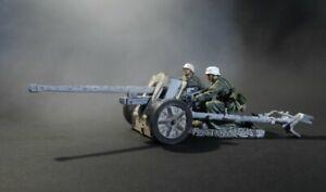 THOMAS GUNN WW2 SSEW002 GERMAN EARLY SS PAK 38 WITH 2 FIGURES WINTER MIB