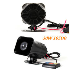 Motorcycle siren horn 12V ultra sound 3-tone alarm electric car conversion horn