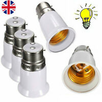 1-10 BC B22 to E27 Converter Edison Screw LED Bulb Base Socket Converter Adaptor