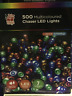 500LED Chaser Light Christmas TREE MULTICOLOUR BLUE BRIGHTWHITE WARMWHITE DECORA