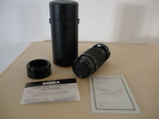Sigma Zoom 70-210mm F4.5 Lens with Case FOR NIKON