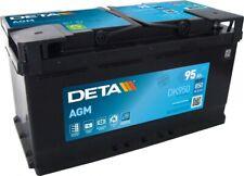 DETA DK950 Start-Stop AGM 12V 95Ah 850A Autobatterie