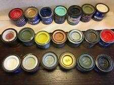 20 Humbrol & Revell Paints