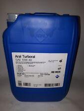 20 Liter ARAL Turboral 10W-40 Motoröl MAN, MB, Volvo