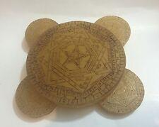 Sigillum Dei Aemeth Enochian Magick John Dee Occult Angel Pure Wax Set of Five