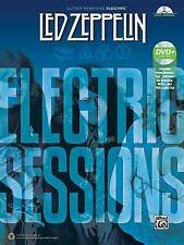 NEW Led Zeppelin -- Electric Sessions: Guitar TAB, Book & DVD (Guitar Sessions)
