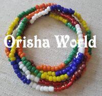 Collar Eleke Siete 7 Potencias Santeria Ifa Lucumi Seven African Powers Necklace
