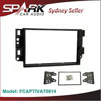 AD Double 2 DIN Facia Kit Panel Fascia Dash Plate For Holden Captiva 7 2006-2014