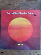RASA Everything You See Is Me Iskcon 1978 Funky Hare Krishna Influenced LP