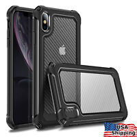 For iPhone X/ XR/ XS MAX/ 11 Pro/ 6 7 8 Plus/ SE 2020 Protective Case Hard Cover