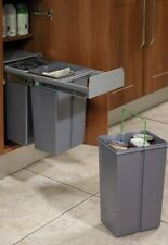 RECYCLE BIN PULL OUT KITCHEN WASTE BIN - 30 LTR  - 300mm WIDE