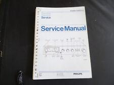 Original Service Manual Philips F 4202