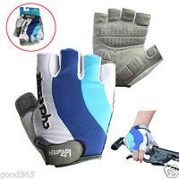 Fashion Cycling Gloves Bike Bicycle GEL Shockproof Sports Half Finger Gloves Hot