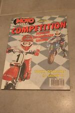 MOTO JOURNAL HORS SERIE COMPETITION SAISON 87 1987