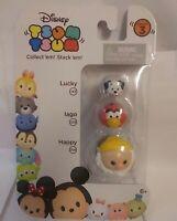 Disney Tsum Tsum Series 3 Lucky Iago Happy 101 Dalmatians Snow White Aladdin
