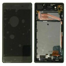 Black Für Sony Xperia X F5121 F5122 Display LCD Touch Screen Assembly Frame AAA