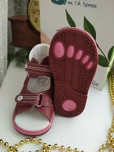 Russia New-toddler-girl-leather-walker orthopedic series - sandals sizes 20,21,2