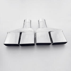 """Pair 2.5"""" In SS304 Angle Cut Dodge Challenger 1970-1974 Style Dual Exhaust Tips"""