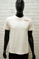 Maglia SUNDEK Uomo Taglia Size S Maglietta Shirt Man Manica Corta Bianco Slim