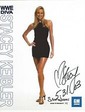 Stacy Keibler Signed WWE GM Promo 8.5x11 Photo #1