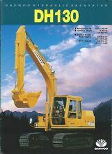 Equipment Brochure - Daewoo - DH130 - Hydraulic Excavator - 1988 (E5174)