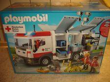 PLAYMOBIL 9536 DRK Gerätewagen Lizenzserie deutsches rotes Kreuz