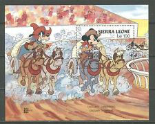 Walt Disney, Micky, Capex 87, Pferde - Sierra Leone - 1 Bl. ** MNH 1987