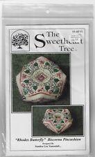 The Sweetheart Tree-Rhodes Butterfly- Biscornu Pincucushion Kit -New