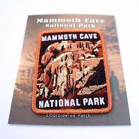 Official Mammoth Cave National Park Souvenir Patch Kentucky