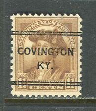 Covington KY 243 DLE precancel on 1.5 cent 1932 Bicent issue, Scott 706