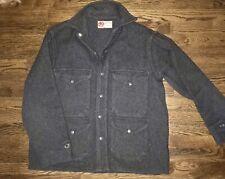 VTG 40's Black Bear Of SEATTLE Wool MACKINAW CRUISER JACKET Men M