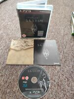 The Elder Scrolls V Skyrim - Sony PS3 Game - With Manual & Map! - FREE P&P!