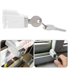 Aluminum Alloy Children Safety Sliding Window Restrictor Lock with 2 Keys