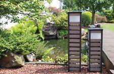 Leco Lámpara solar 80cm de Jardín Iluminación