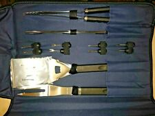 """9Gg51 Bbq Tool Kit, Never Used, No Package, 20"""" X 7"""" X 2"""" +/- Overall, New Other"""