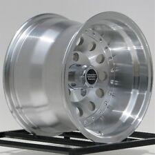 """15 Inch Machined Wheels Rims Chevy S10 Blazer GMC S15 2WD 5 LUg 5x4.75 15x10"""""""