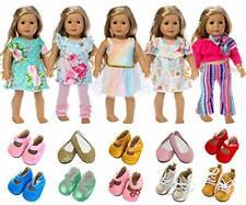 Puppen 7 Stück Puppenzubehör 43-46cm Babypuppe 18 Zoll American  B-WARE