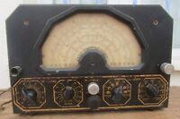 ANCIEN HETERODYNE MASTER WOBBLER POUR RADIO TSF RADIO CONTROLE LYON + NOTICE