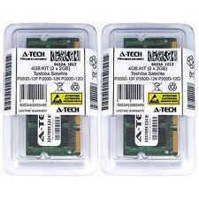 4GB KIT 2 x 2GB Toshiba Satellite P200D-12F P200D-12K P200D-12O Ram Memory
