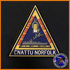 USN CNATT NORFOLK VA Center for Naval Aviation Technical Training PVC Patch F-35