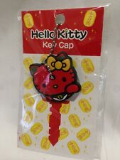 New Hello Kitty Key Cap Cover Lucky Cat Red Sanrio