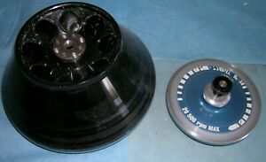 Sorvall fixed Angle Rotor SS-34, 8 slots for 50ml tubes