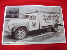 1949 STUDEBAKER 7UP TRUCK  11 X 17  PHOTO   PICTURE
