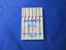 Shhmetz needles for Janome My Lock 644D HAX1SP Size 11/75