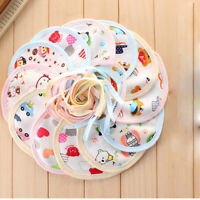 10Pcs/lot Cotton Baby Bibs Boy Girls Saliva towels infant Bibs DUE